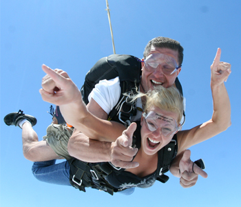Tandem Skydiving Gift Certificates